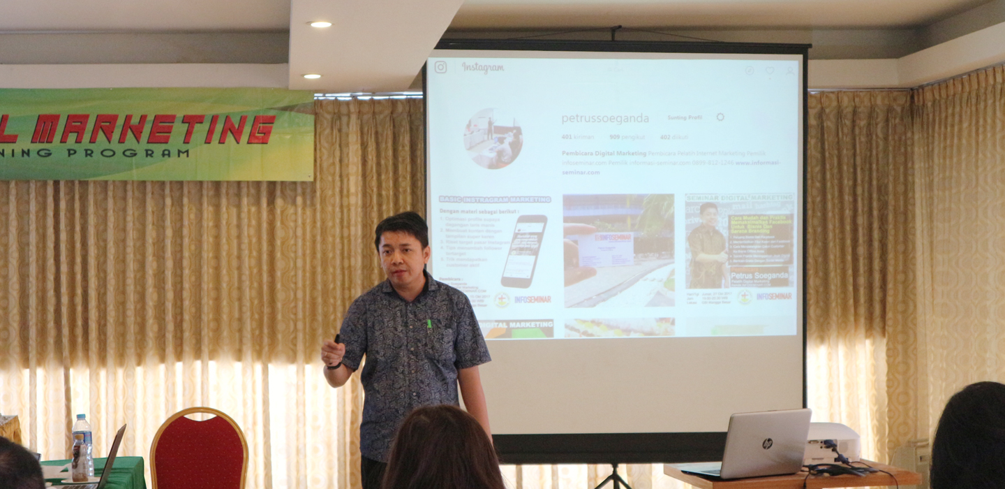 Mengoptimalkan keunggulan Web AndaKelas Digital Marketing